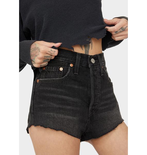 Levis 501 Tiny Cutoff Shorts