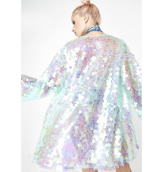 Moon River Sequin Kimono