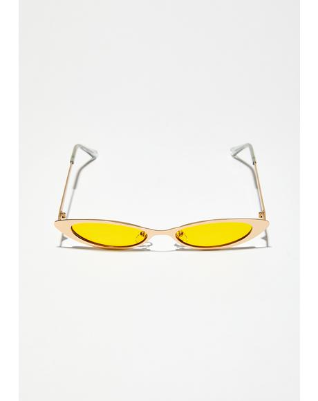 Golden Rule Skinny Sunglasses