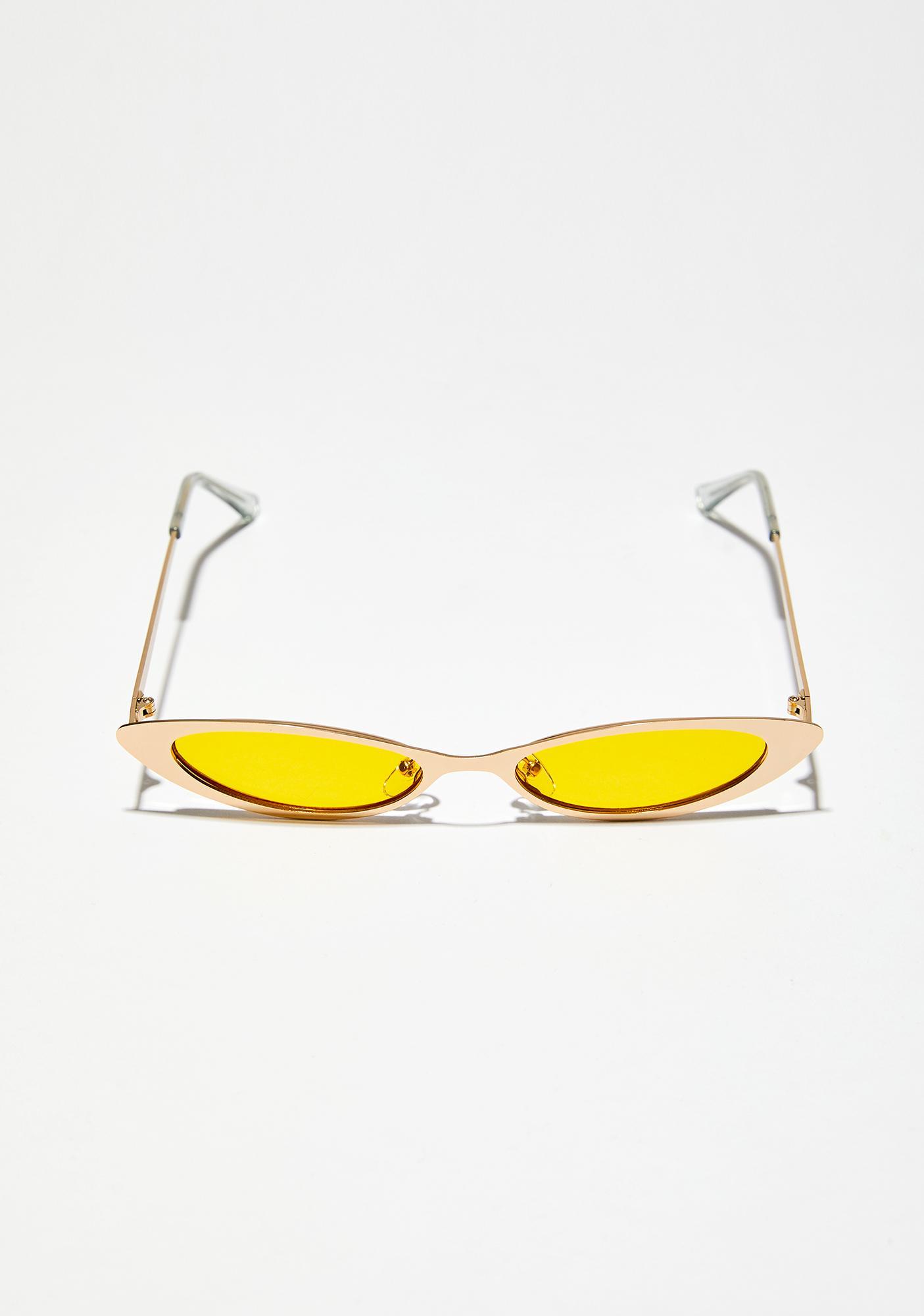 Golden Rule Skinny Sunglasses