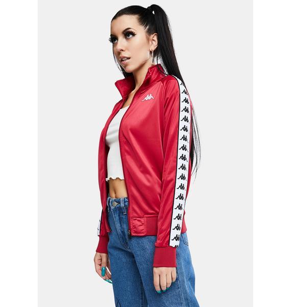 Kappa 222 Banda Wanniston Slim Track Jacket