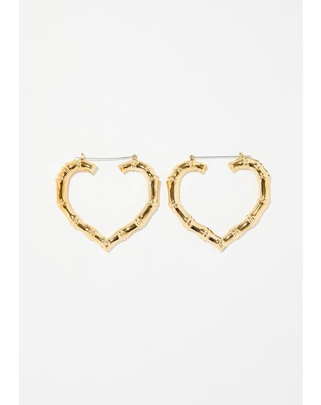 Worst Behavior Hoop Earrings