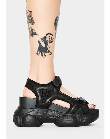 Stellar Influence Platform Sandals