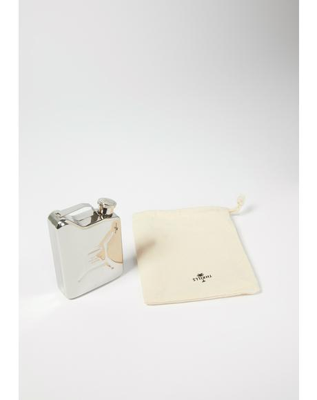 Stainless Steel Military Flask