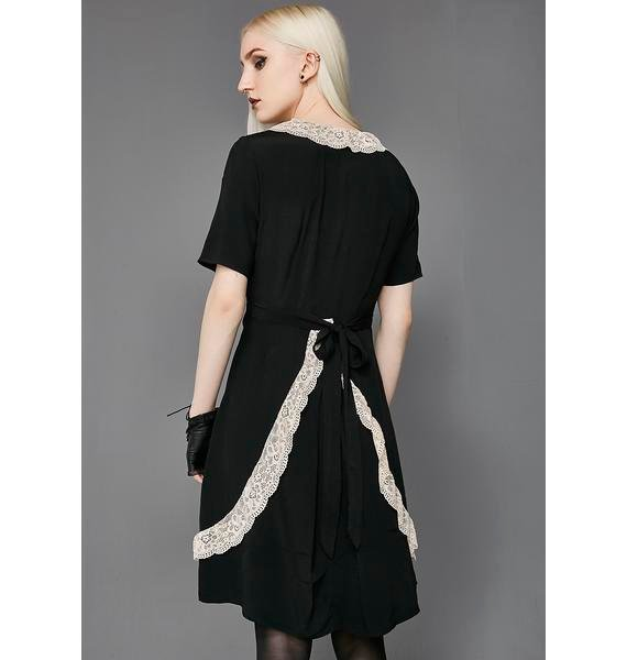 Widow Temple Of Love Lace Maxi Dress