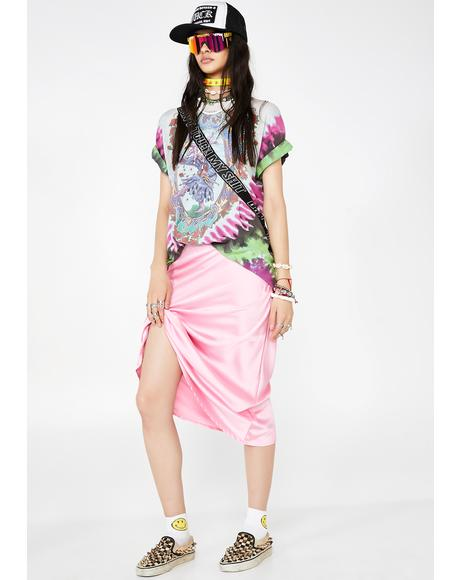 Miss Mainstream Mami Midi Skirt
