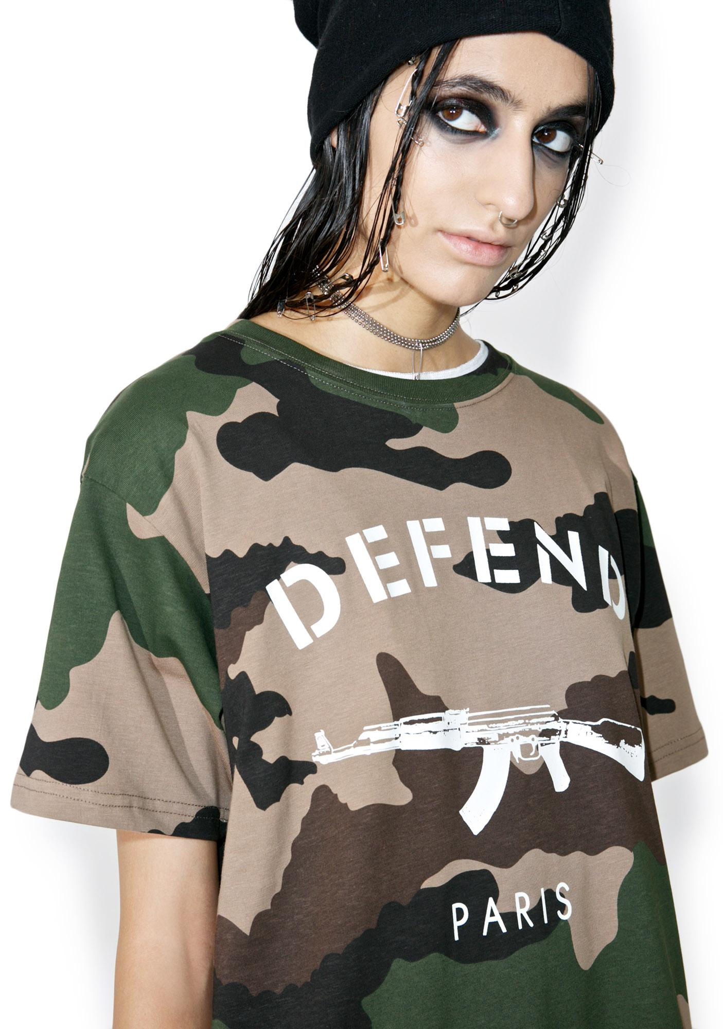 Defend Paris Yosef Paris Tee
