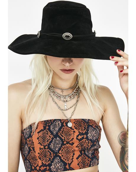 Onyx Explore Your Mind Wide Brim Hat