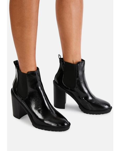 Midnight Reblog Me Chelsea Boots
