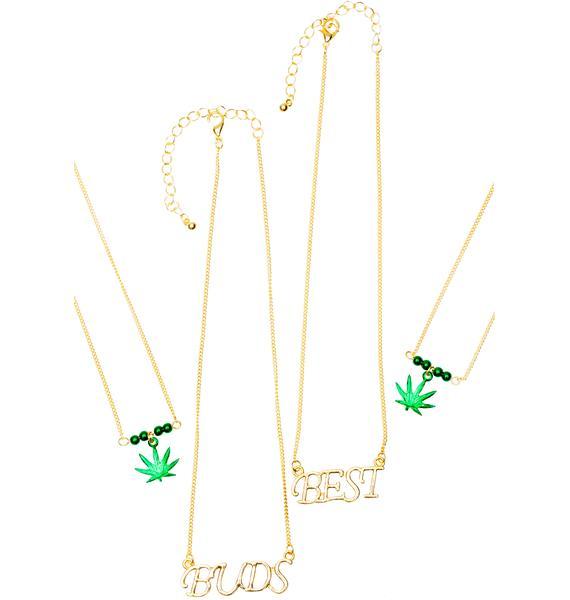 Best Buds Necklace Set