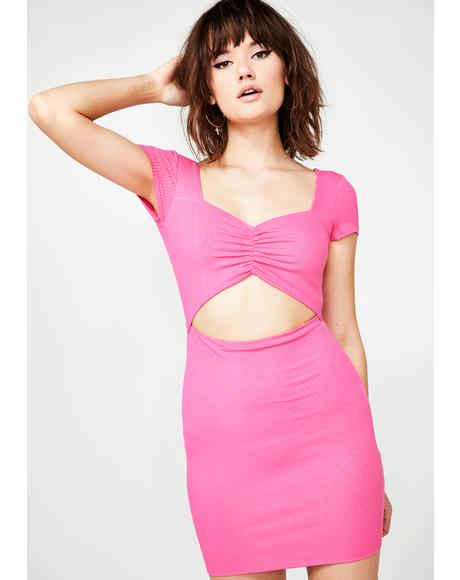 Hawt Hunny Cut Out Dress