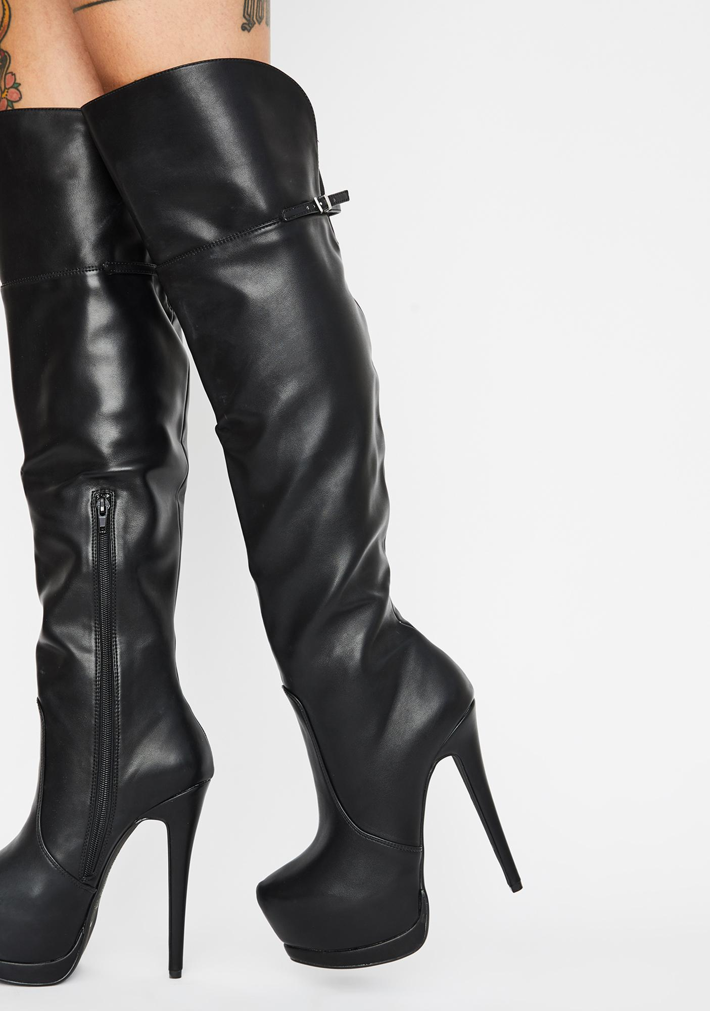 save off 9f168 9d145 Free Form Smooth Platform Stiletto Boots