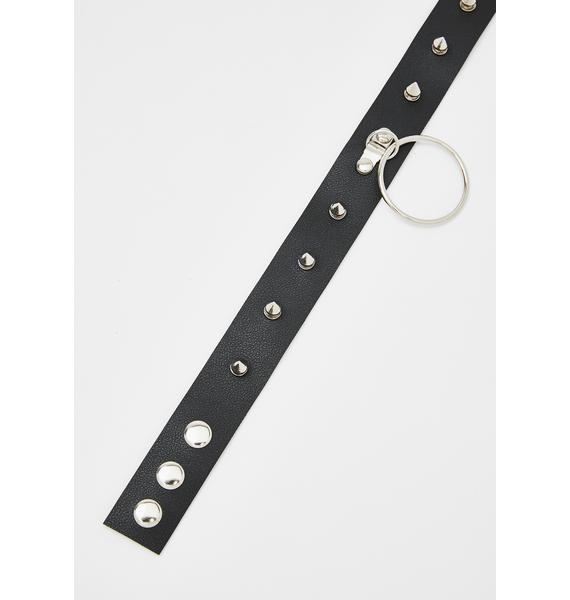 Spike The Punch O-Ring Choker