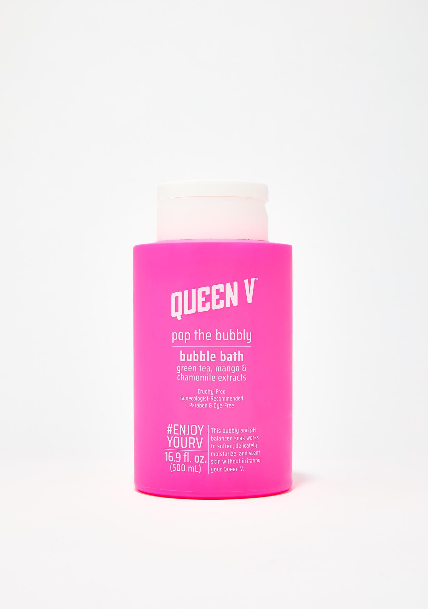 Queen V Pop The Bubbly pH Balanced Bubble Bath