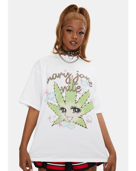 MJN Gang Oversized Graphic Tee