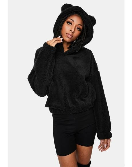 Noir Sumthin' Sweet Fleece Pullover