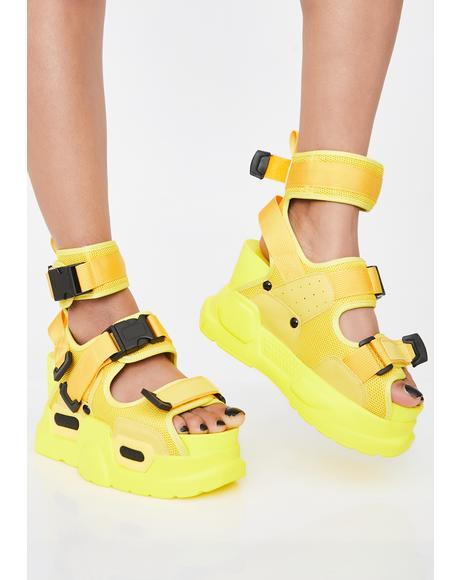 Sunny Daily Hustle Platform Sandals