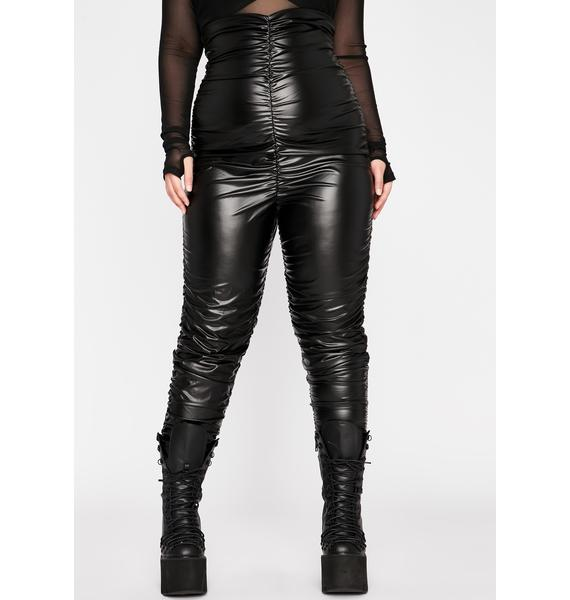 Lux Forever Fly Ruched Leggings