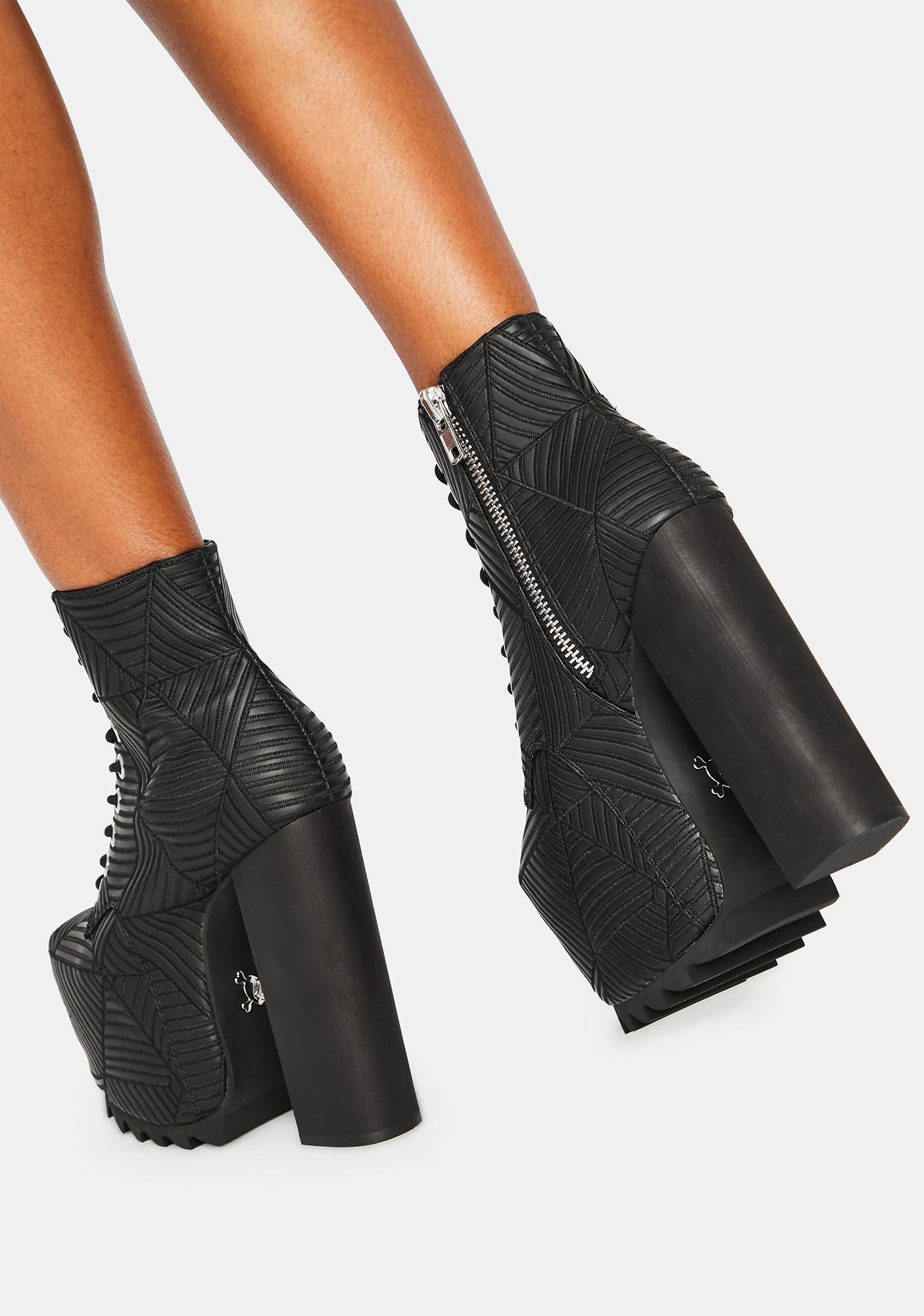 Charla Tedrick Spidey Platform Boots