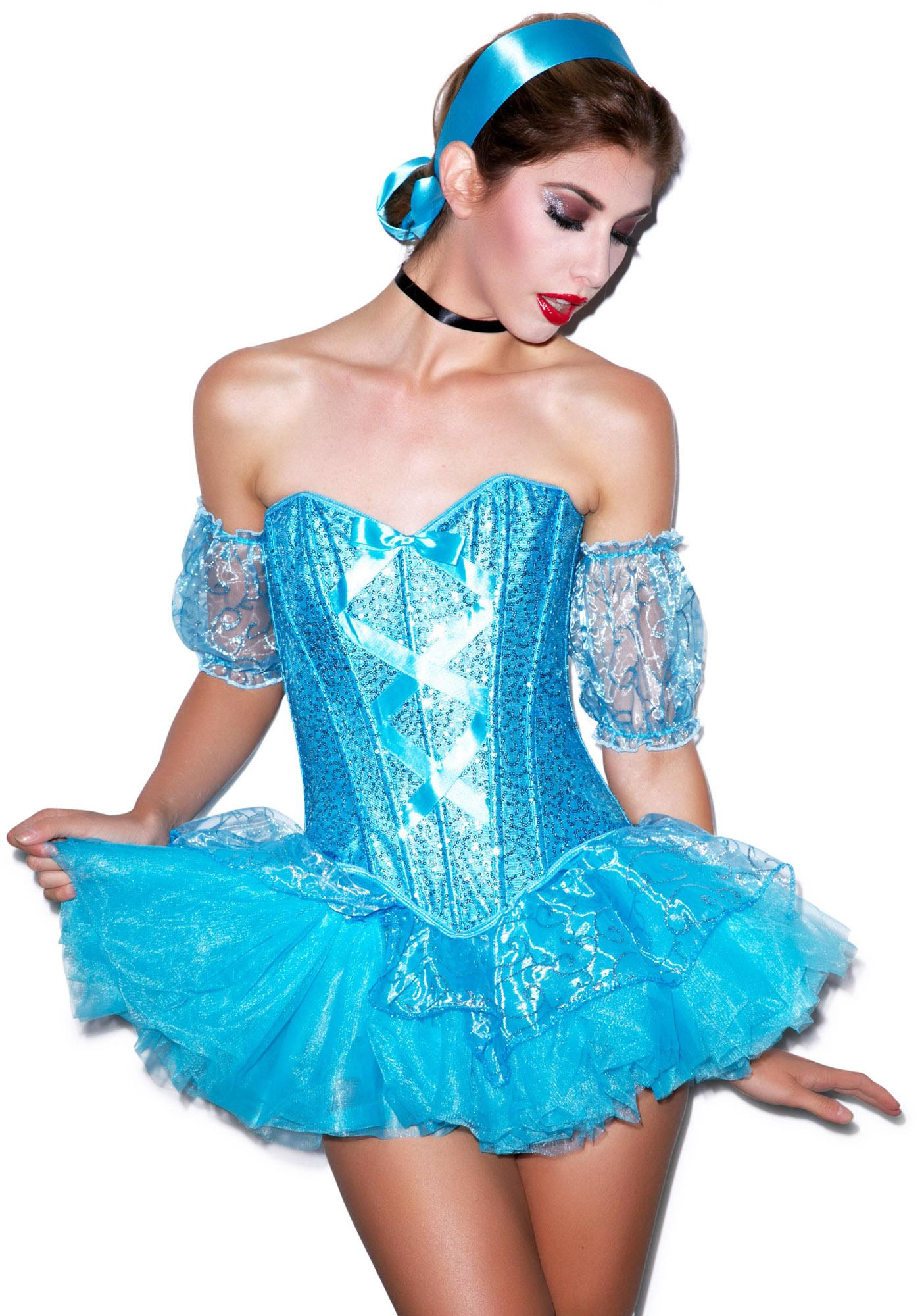 Sexy pink princess adult costume