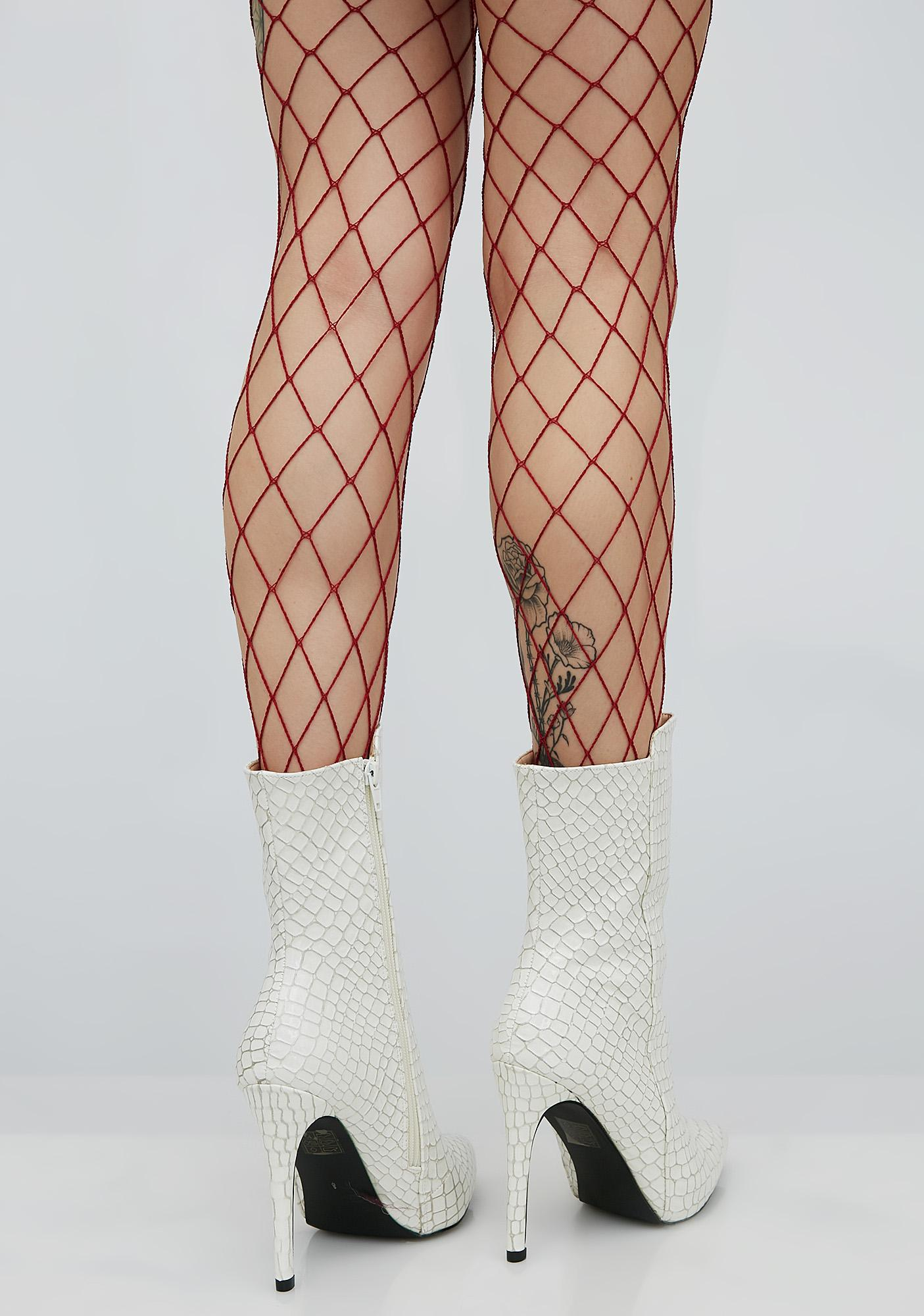 First Catch Fishnet Tights