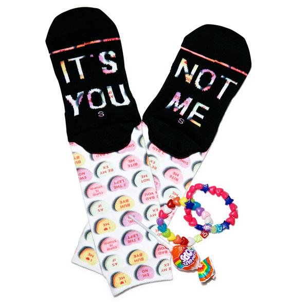 Stance It's You Candy Heart Socks