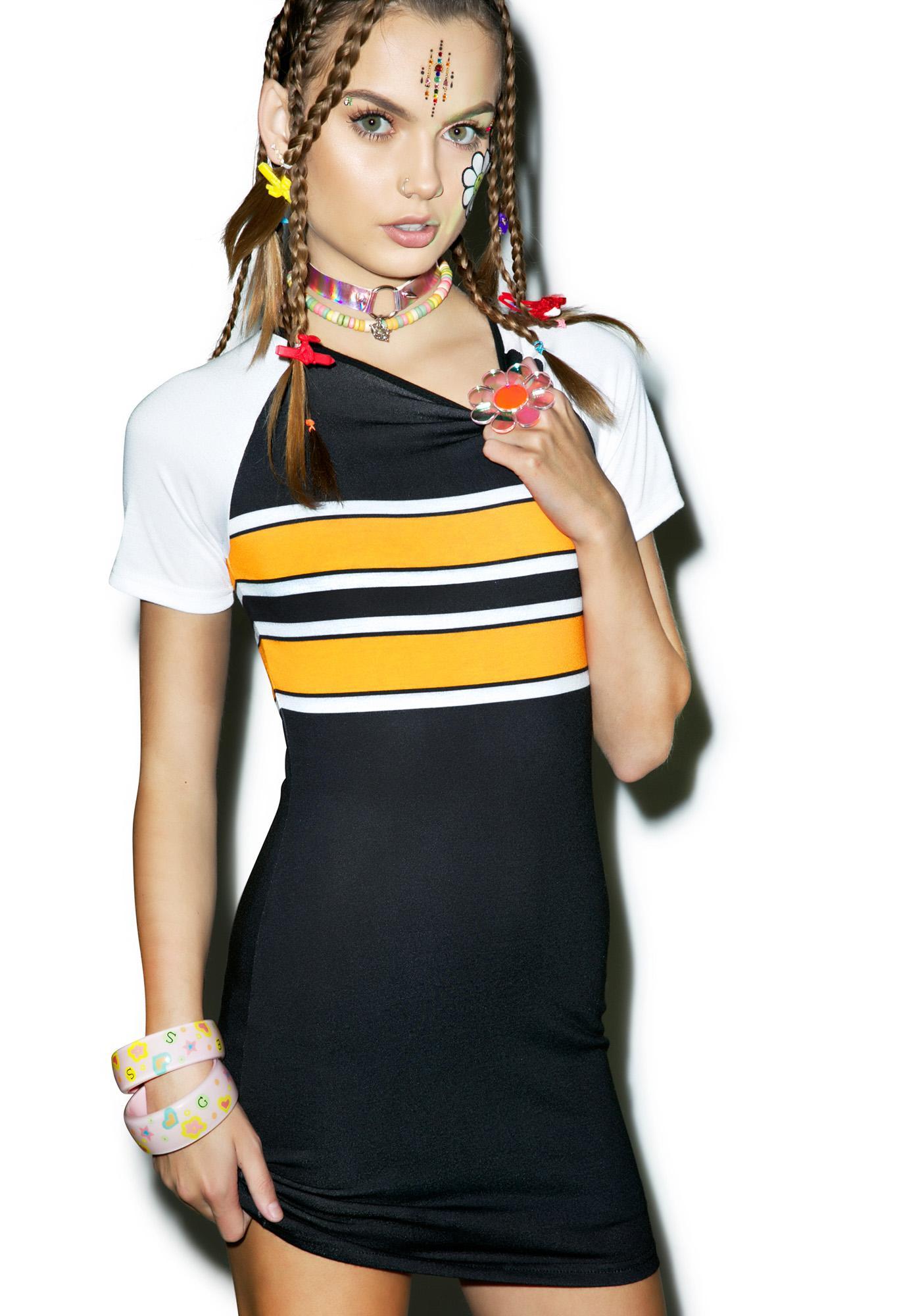 Rah-Rah Bodycon Dress