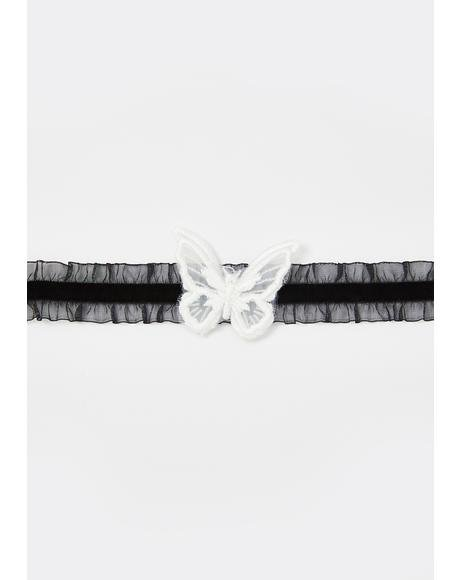 Fly For Me Lace Choker