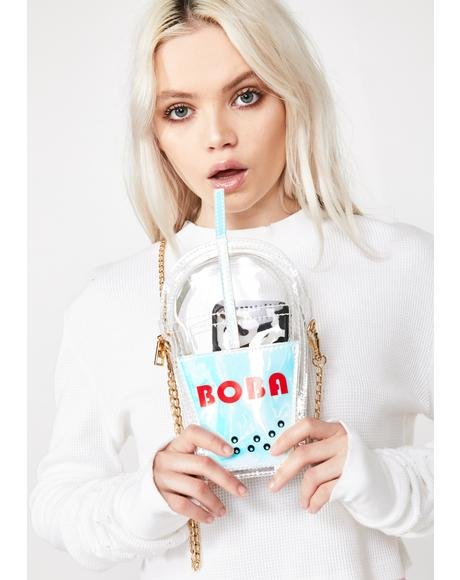 Cosmic Milk Tea Boba Purse