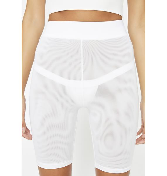 Icy 'Bout That Bass Biker Shorts
