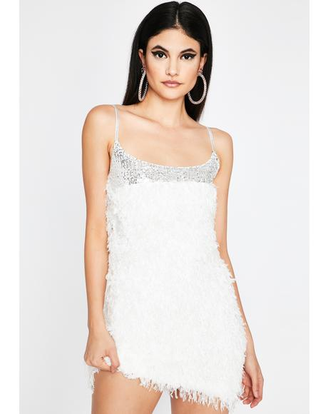 Icy Drop Dead Diva Mini Dress