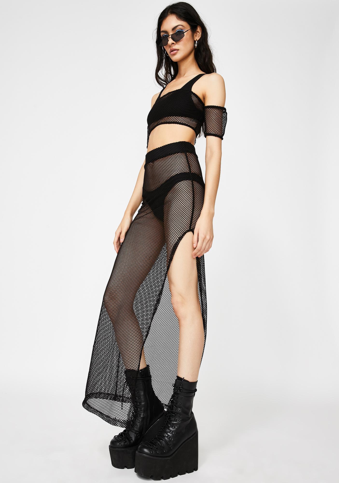Kiki Riki Rough Survival Maxi Skirt Set