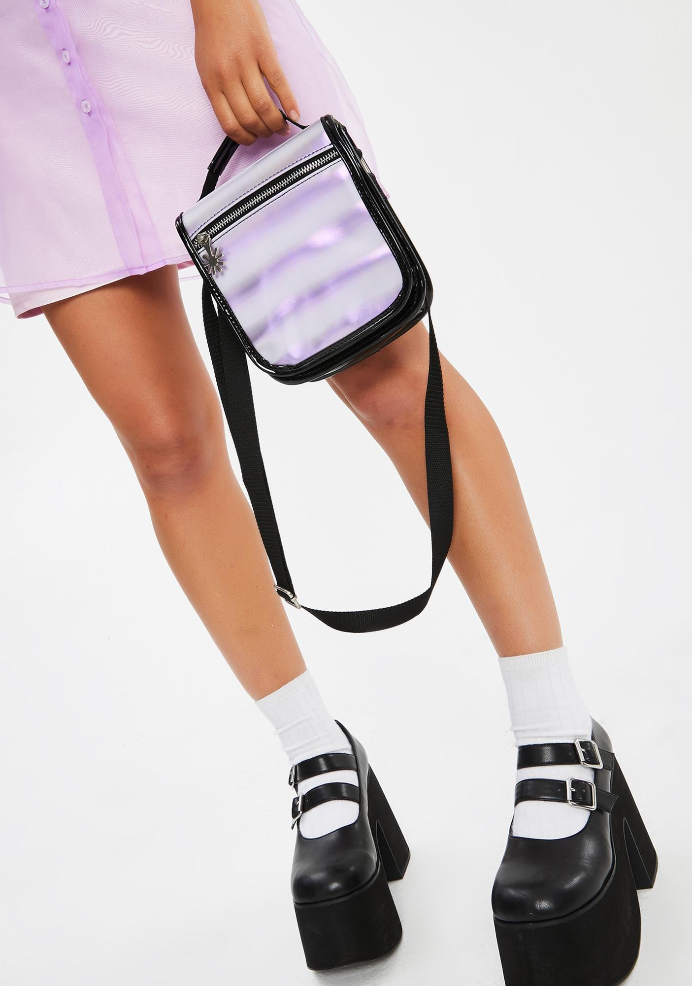 dELiA*s by Dolls Kill What's The Sitch Messenger Bag