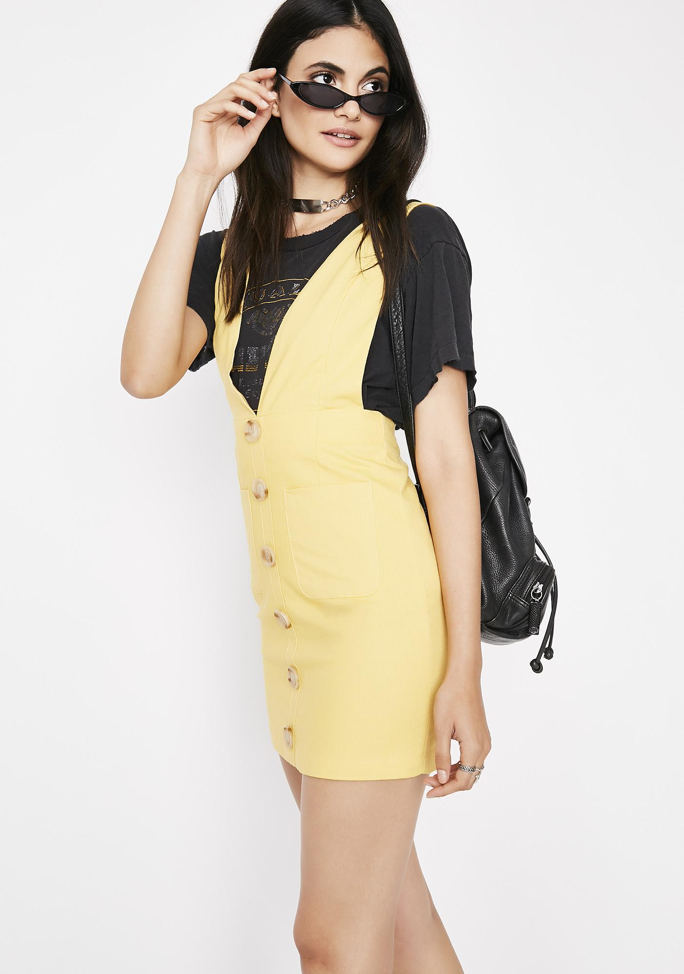 Brighter Daze Pinafore Dress
