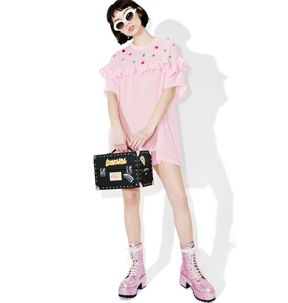 Lazy Oaf Sheer Glamour Tee