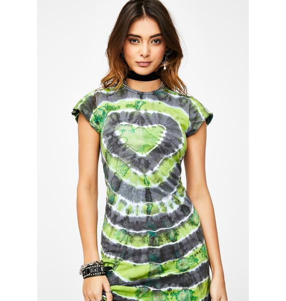 The Ragged Priest Tank Tie Dye Dress