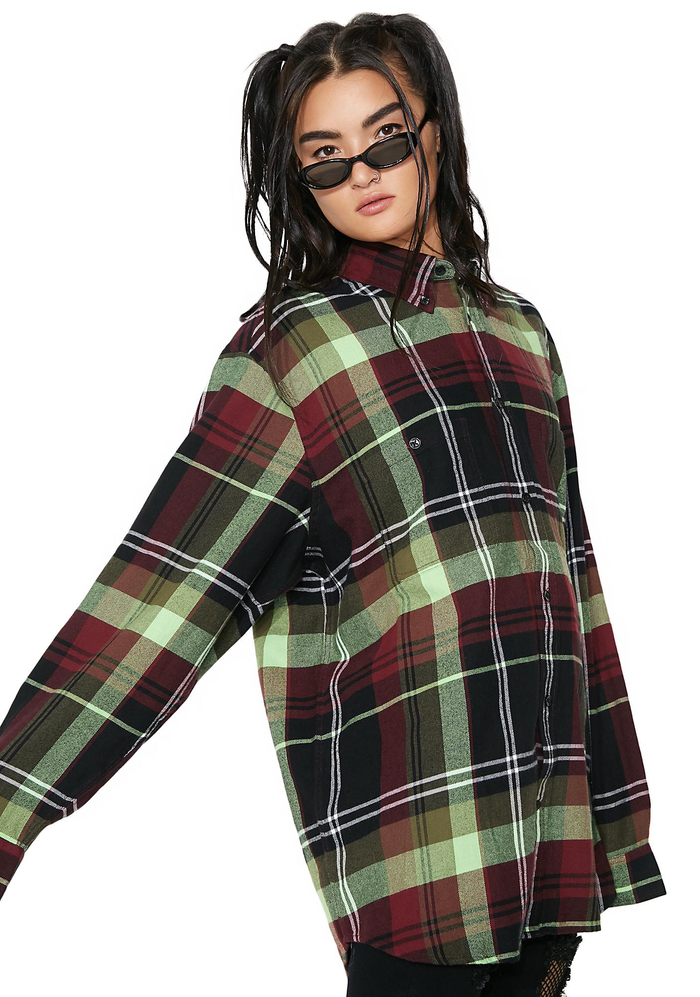 Cheap Monday 90's Check Conduct Shirt