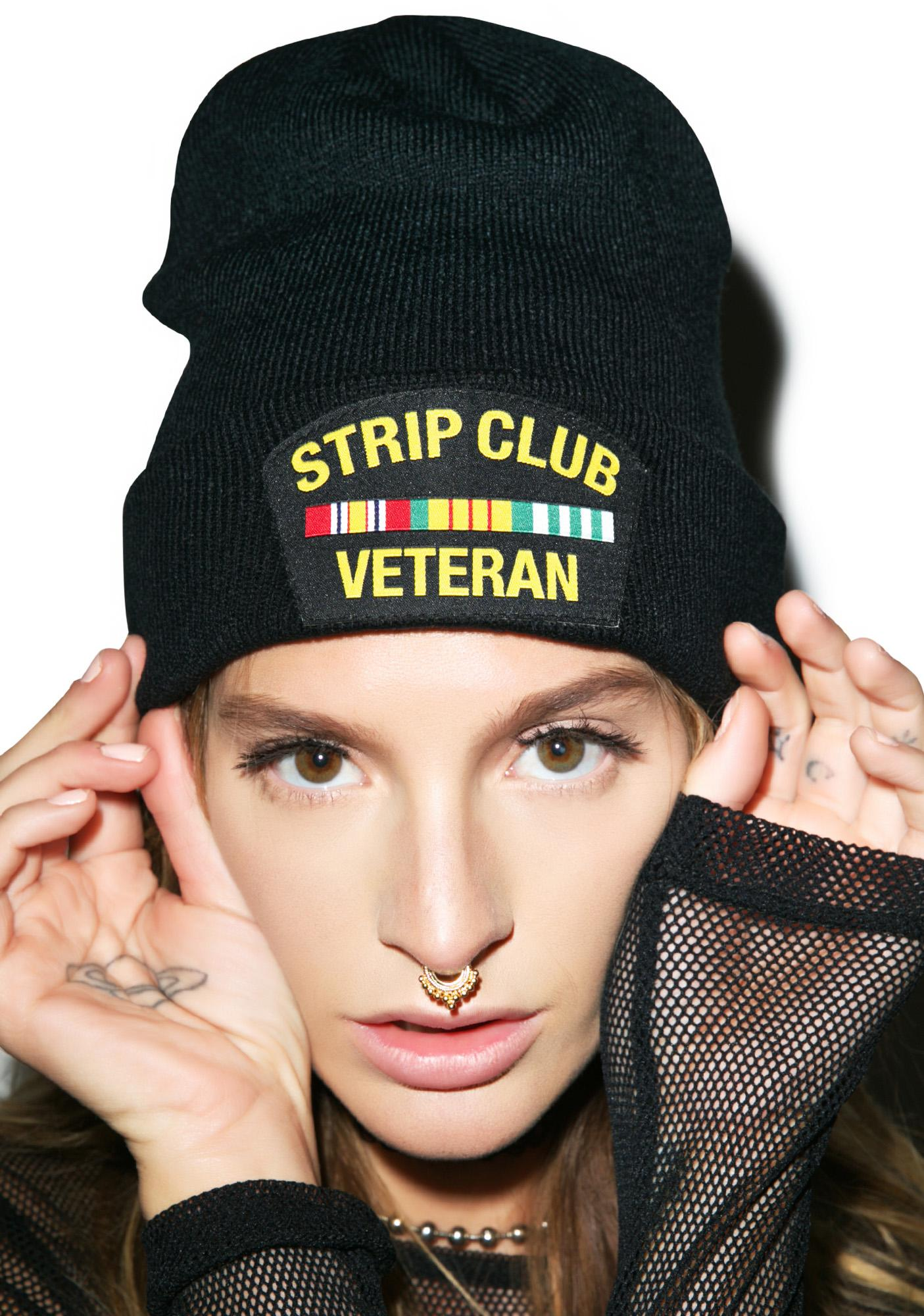 Reason Strip Club Veteran Beanie