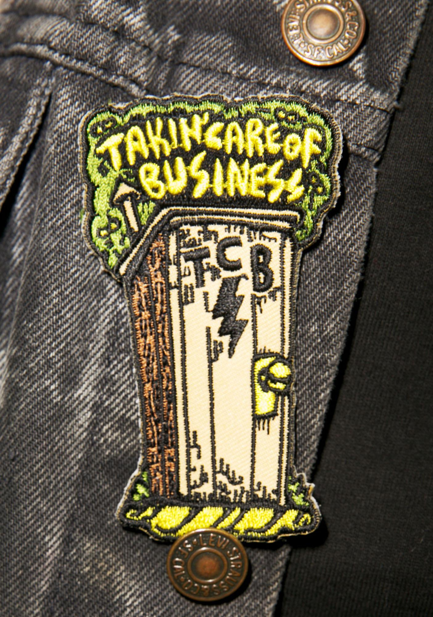 Takin' Care of Business Patch