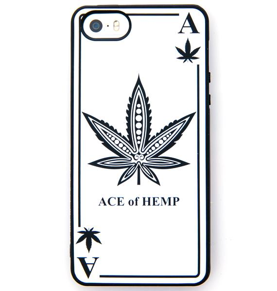 Ace Of Hemp Pattern iPhone 5 Case