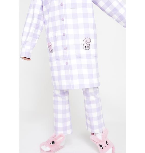 Lazy Oaf Bunny Check Jacket