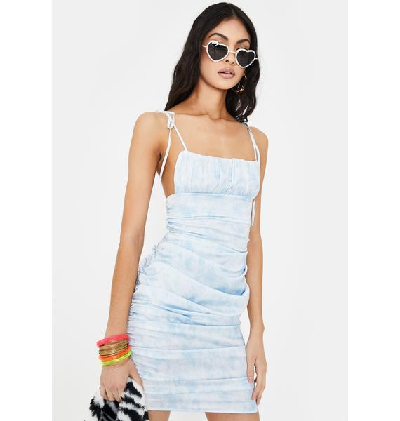 Lioness Uptown Girl Tie Dye Mini Dress