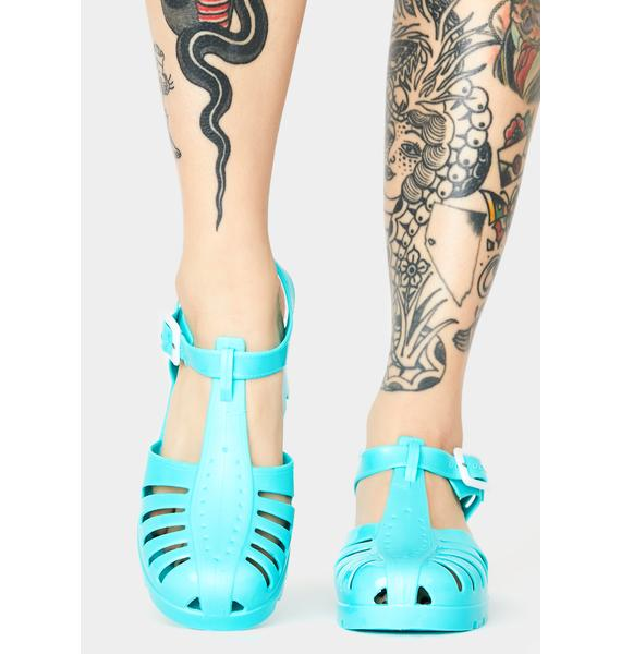 Aqua Total Transparency Jelly Shoes