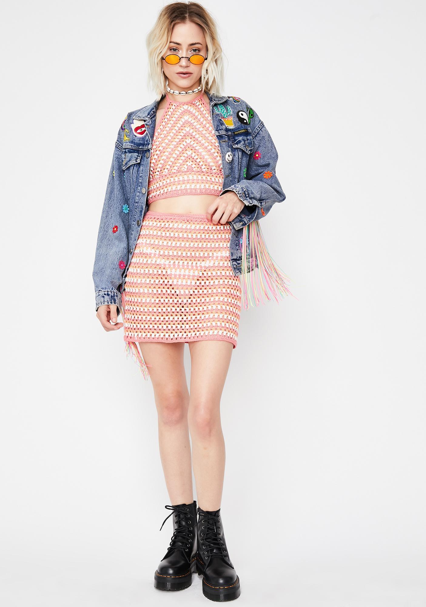 Summer Fling Crochet Top