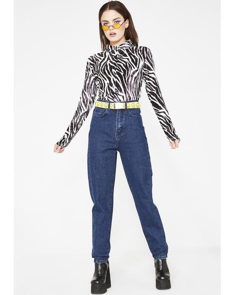 LO Blue Jeans