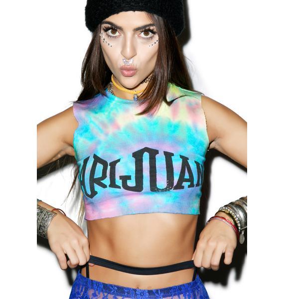 Mamadoux Stoner Girl Crop Top