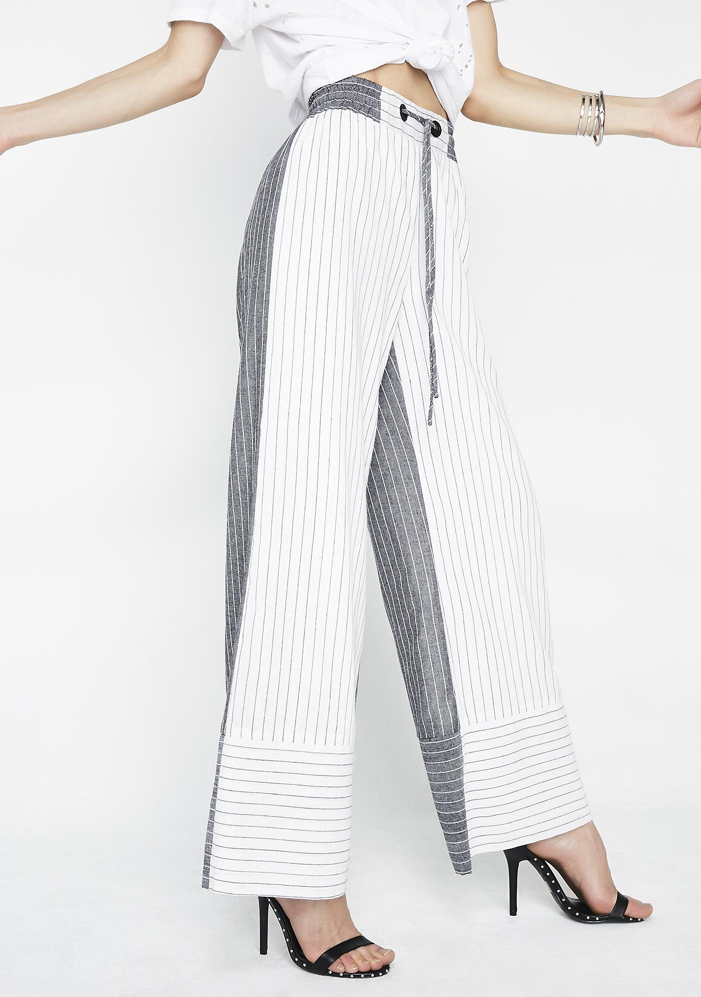 Bossy Ways Striped Pants