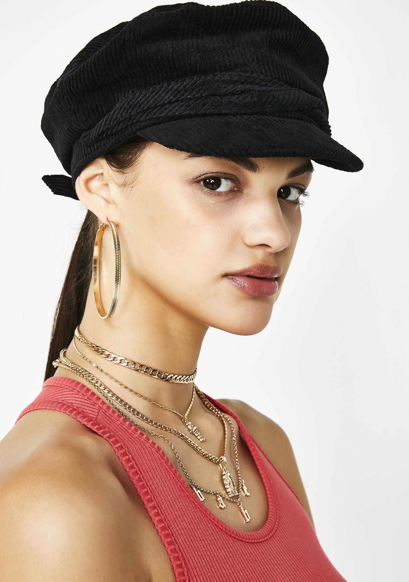 Welcome To My Hood Corduroy Hat