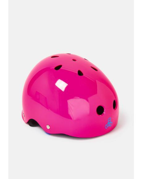 Neon Fuchsia Sweatsaver Helmet