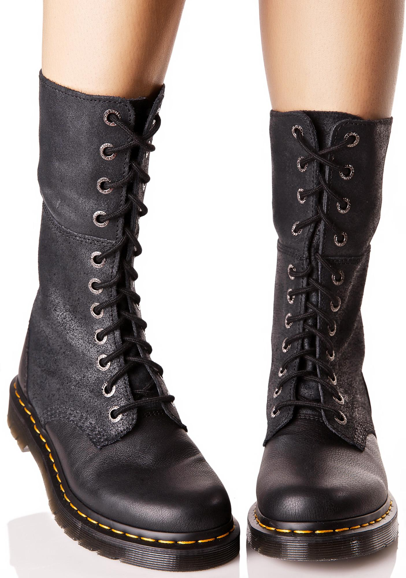 Dr Martens Hazil Tall Slouch Boots